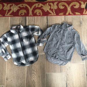 Boys size XS shirts